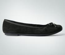 Damen Schuhe Ballerinas in Veloursleder