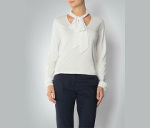 Damen Shirt mit Schluppendetail