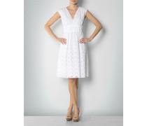 Damen Kleid mit Lochmuster