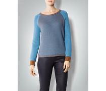 Damen Pullover im Zwei-Farben-Strick