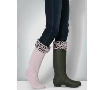 Socken Fleece-Socken mit Umschlag