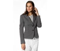 Damen Blazer Baumwolle -grau