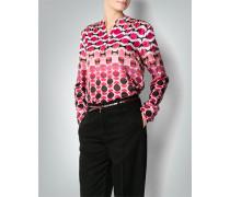 Damen Bluse mit Retro-Muster
