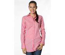 Damen Bluse Tunika Baumwolle pink