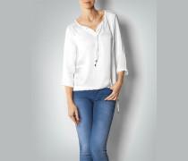 Damen Luftig-leichte Bluse mit Knopfleiste