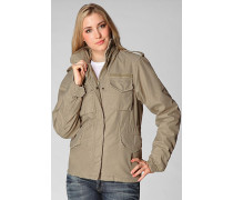 Damen Fieldjacket Baumwolle camel
