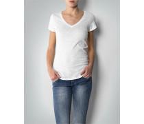 Damen T-Shirt in stark melierter Optik