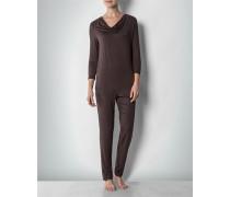 Damen Nachtwäsche Pyjama in weicher Jersey-Qualität
