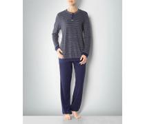 Damen Nachtwäsche Pyjama in Frottee-Qualität