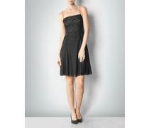 Damen Kleid mit Spitzen-Details und Polka-Dots