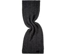Damen Schal Wollmischung anthrazit