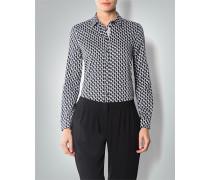 Damen Bluse mit verzierter Knopfleiste