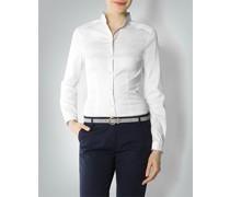 Damen Bluse mit Kontrastdetails