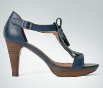 Damen Schuhe Sandalette im Collegestil