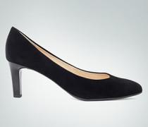 Damen Schuhe Pumps mit Glanzabsatz