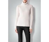 Damen Pullover Rolli in Grobstrick-Optik