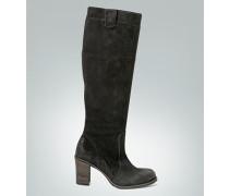 Damen Schuhe Stiefel Cilauren aus Veloursleder