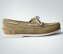 Damen Schuhe Mokassins aus Veloursleder