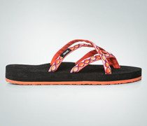 Damen Schuhe Zehensandalen mit überkreuzten Riemen