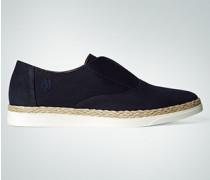 Damen Schuhe Slip On mit eingelegtem Sisalrand