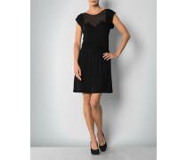 Damen Kleid mit Polka Dots-Spitze