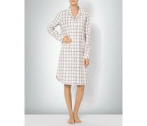 Damen Nachthemd aus Baumwoll-Flanell