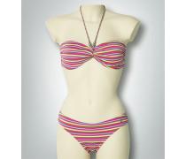 Damen Bademode Bikini im Streifen-Design