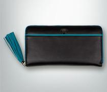 Damen Geldbörse mit Kontrast-Details