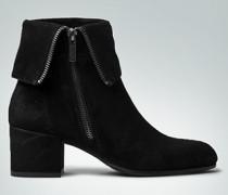 Damen Schuhe Stiefelette mit seitlichem Metallreißverschluss