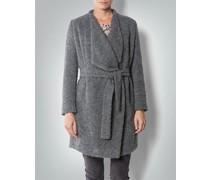 Damen Mantel in Bouclé-Optik