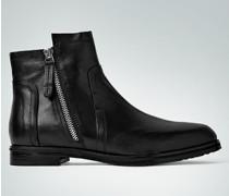 Damen Schuhe Stiefeletten mit Zier-Reißverschluss