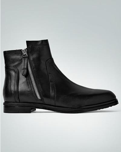 Schuhe Stiefeletten mit Zier-Reißverschluss