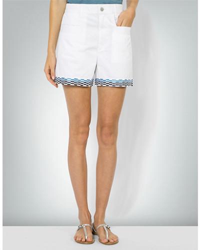 Hose Shorts mit Stickerei