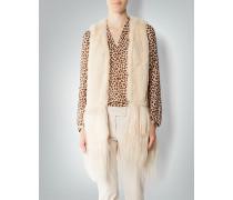 Damen Jacke Pelzweste im Bohemian-Stil