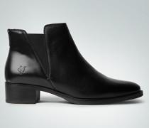 Damen Schuhe Stiefelette mit seitlichen Elastikeinsätzen