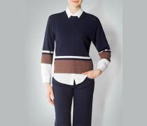 Damen Pullover im feinen Struktur-Mix