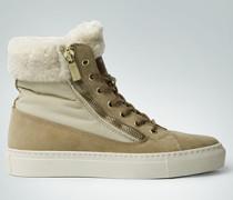Damen Schuhe Sneakers mit Teddyfell