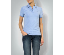 Polo-Shirt in melierter Optik