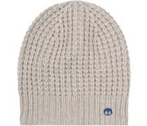 Damen Mütze im Patentstrick-Dessin