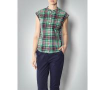 Damen Bluse im Karo-Look