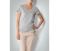 Damen T-Shirt im Baumwoll-Modal-Mix