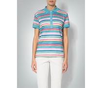 Damen Polo-Shirt im Streifen-Dessin
