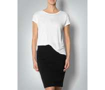 Damen T-Shirt im Vokuhila-Look