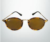 Damen Brille Sonnenbrille im Retro-Look