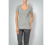 Damen Shirt aus Baumwoll-Feinripp