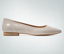 Damen Schuhe Ballerinas aus softem Glanzleder
