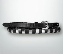 Damen Gürtel Gürtel mit modernen Metall-Elementen