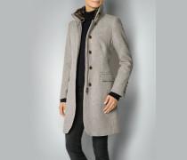 Damen Mantel mit Webmuster