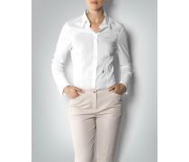 Damen Body-Bluse aus Baumwollstretch
