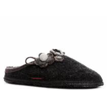 Damen Schuhe 'Nonnenhorn' Wollfilz anthrazit